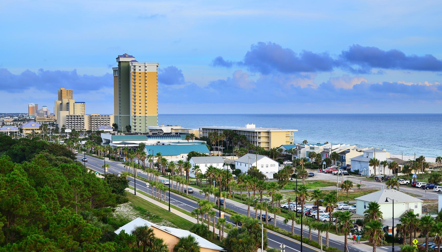 巴拿马城 西北佛罗里达海滩国际机场的租车