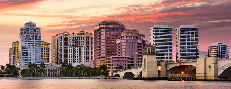 西棕榈滩的家庭酒店