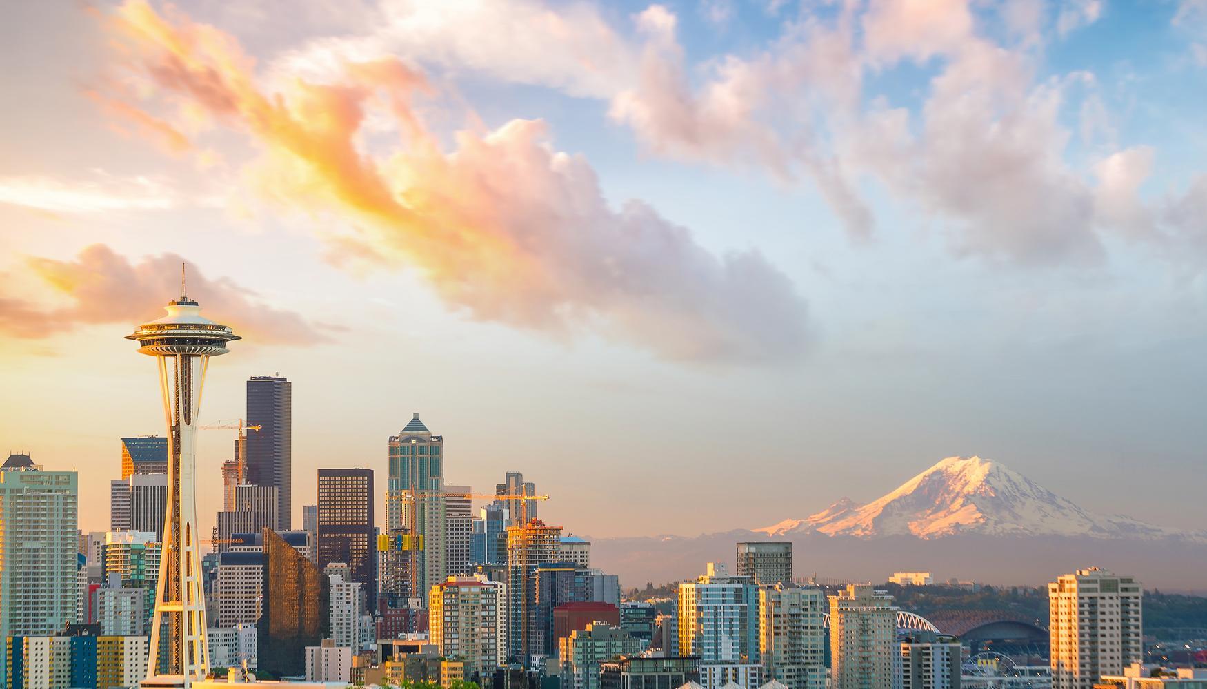 西雅图 金镇国际机场的租车