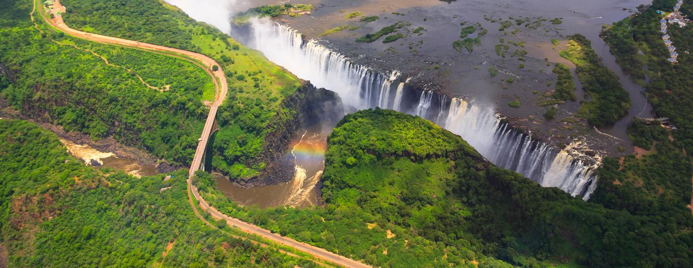 维多利亚瀑布 Victoria Falls的租车