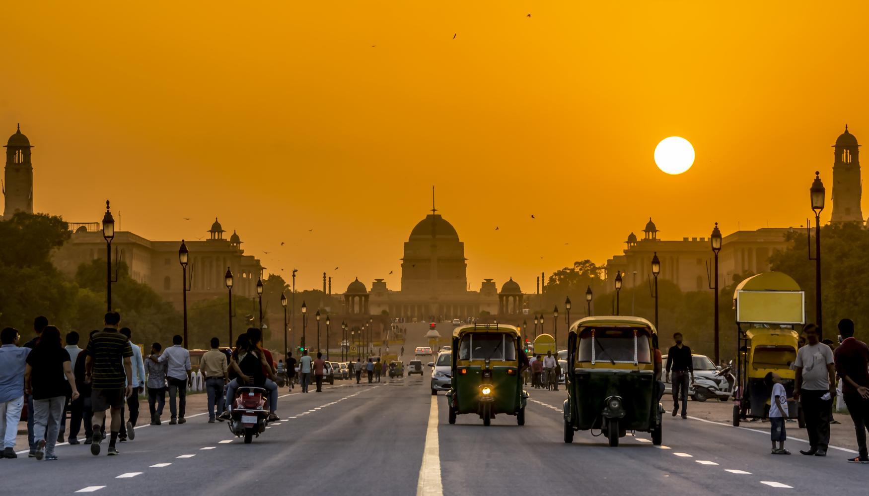 新德里 英迪拉·甘地国际机场的租车