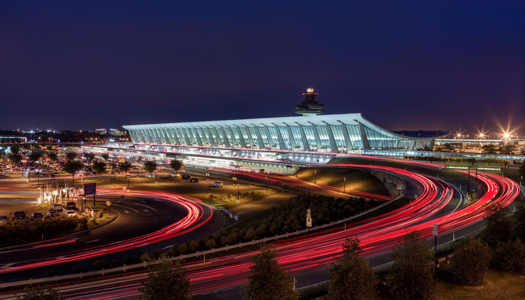 华盛顿杜勒斯国际机场的租车