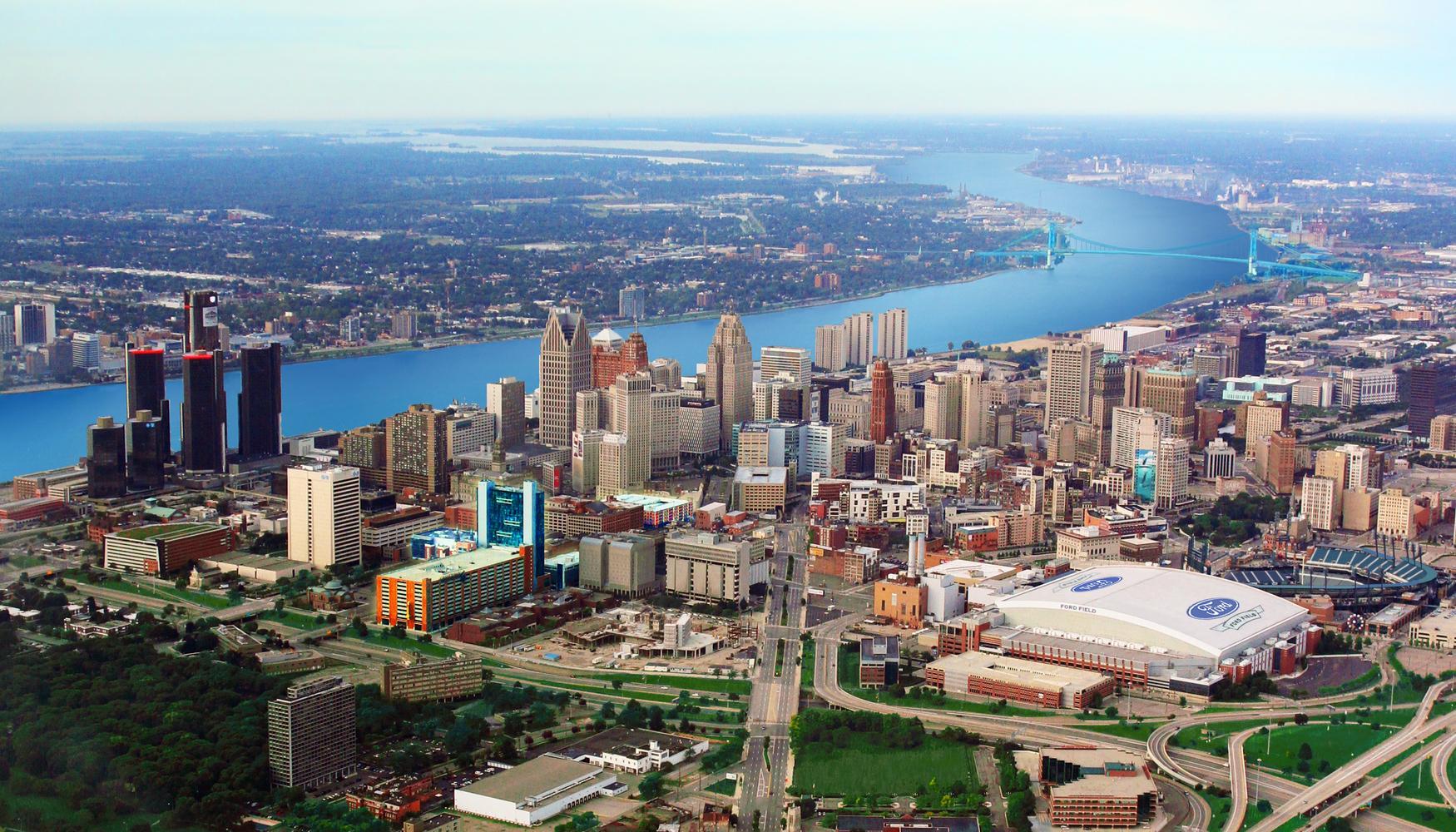 底特律都会韦恩县机场的租车