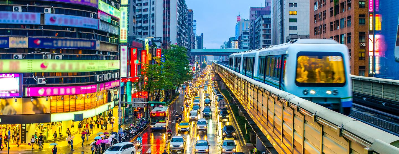 台北 桃园国际及其他机场的租车