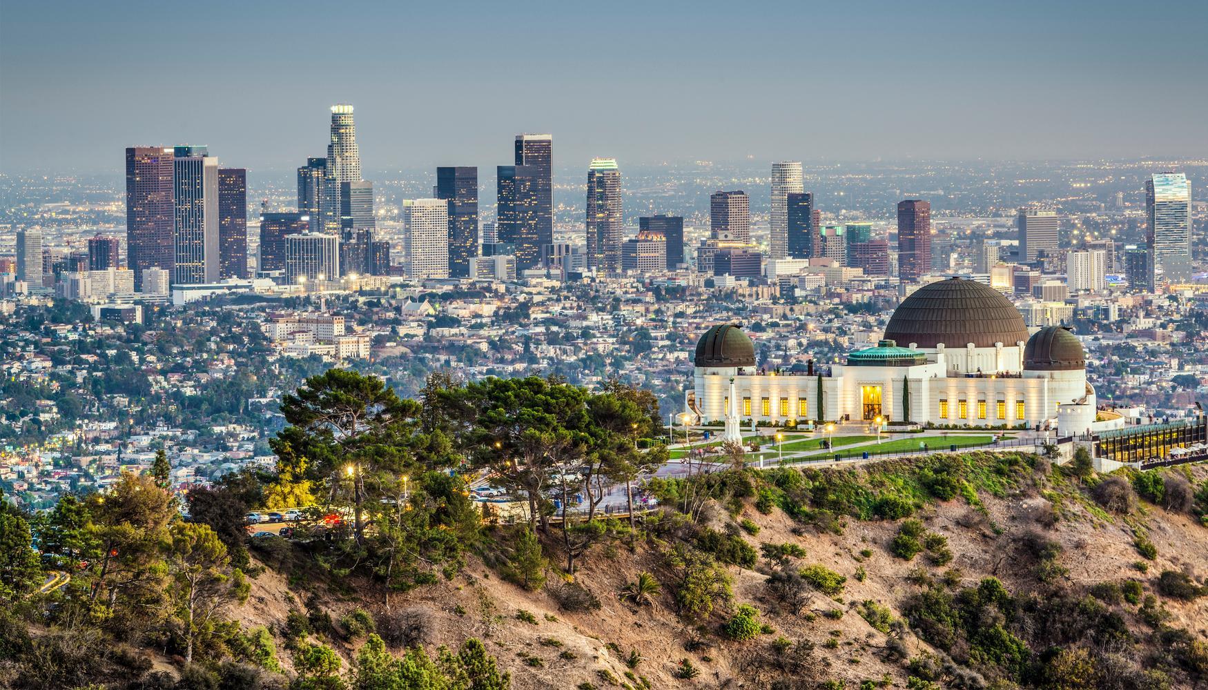 洛杉矶的租车