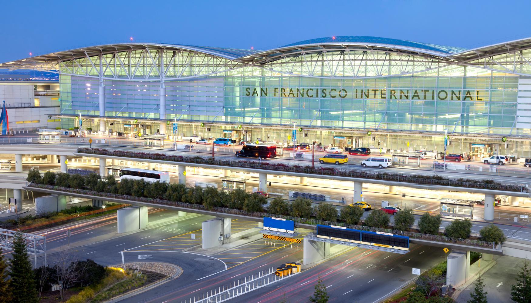旧金山国际机场的租车