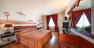 巧克力酒店 - 佩鲁贾 - 睡房