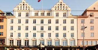 卑尔根斯堪迪克广场酒店 - 卑尔根 - 建筑