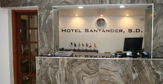 桑坦德 SD 酒店 - 圣多明各 - 柜台