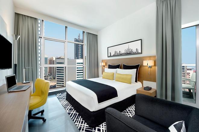 迪拜温德姆特瑞普酒店 - 迪拜 - 睡房
