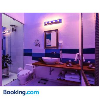 艾尔苏诺水疗酒店 - 普埃布拉 - 浴室
