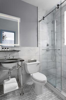 纽约市大都会酒店 - 纽约 - 浴室