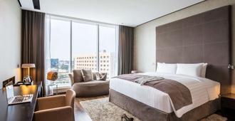 美憬阁迪拜帆布酒店 - 迪拜 - 睡房