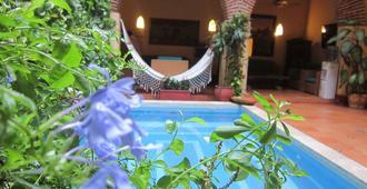 卡萨印度卡特琳娜酒店 - 卡塔赫纳 - 游泳池