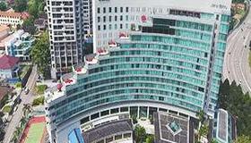 新山提斯特尔酒店 - 柔佛巴鲁 - 建筑