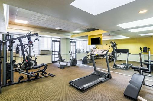 韦斯特医学中心品质酒店 - 阿马里洛 - 健身房