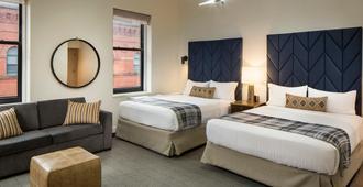 波士顿公园智选假日酒店 - 波士顿 - 睡房