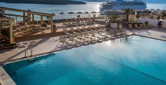 德索尔爱玛仕酒店 - 圣尼古拉斯(克里特岛) - 游泳池