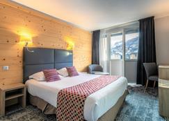 布里昂松塞尔瑟瓦利尔沃邦酒店 - 布里昂松 - 睡房