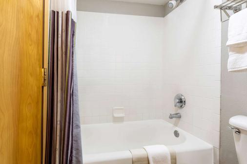 温哥华温德姆拉昆塔套房酒店 - 温哥华 - 浴室