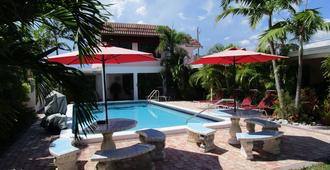 海马旅馆 - 帕诺滩 - 游泳池