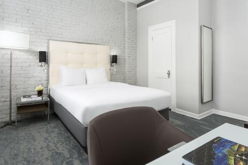 联合广场品格酒店 - 旧金山 - 睡房