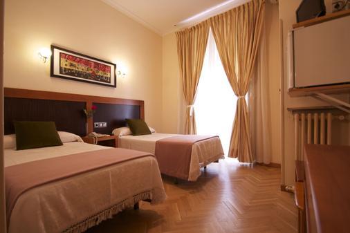 格雷科马德里旅馆 - 马德里 - 睡房