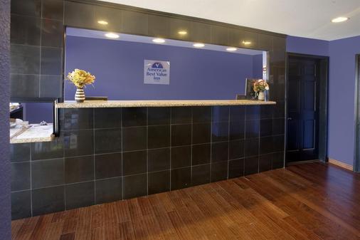 韦科美洲最佳价值客栈 - 富兰克林大道 - 韦科 - 柜台