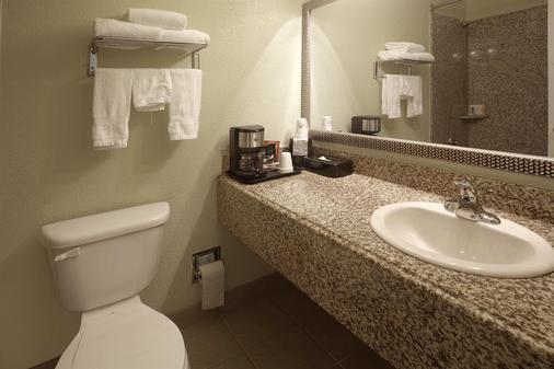 韦科美洲最佳价值客栈 - 富兰克林大道 - 韦科 - 浴室