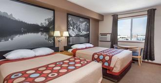 梅迪辛哈特速8汽车旅馆 - 梅迪辛哈特 - 睡房