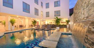 戴尔马尔酒店 - 圣玛尔塔 - 游泳池