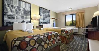 拉塞尔维尔速8酒店 - 拉塞尔维尔(阿肯色州) - 睡房