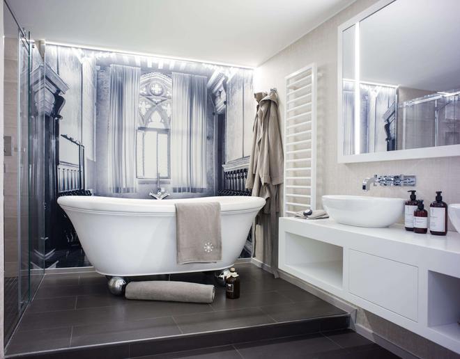斯坦酒店-仅限成人 - 萨尔茨堡 - 浴室