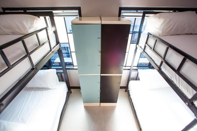 街区旅舍 - 曼谷 - 睡房