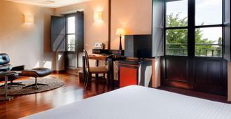 圣安娜帕拉西奥生活方式万豪ac酒店 - 巴利亚多利德 - 睡房