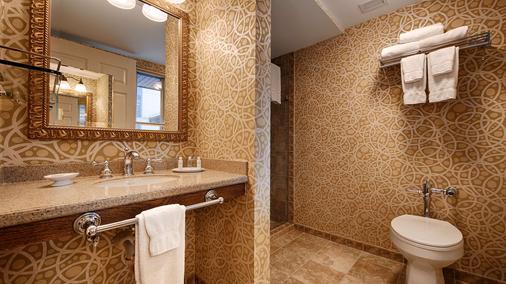 诺曼底贝斯特韦斯特优质套房酒店 - 明尼阿波利斯 - 浴室