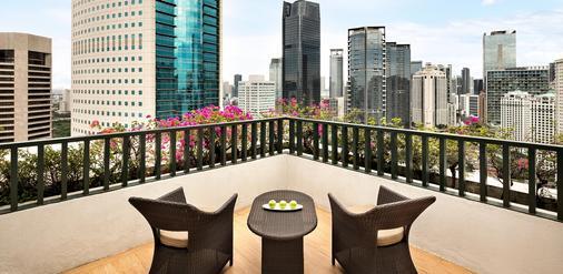 雅加达香格里拉酒店 - 雅加达 - 阳台