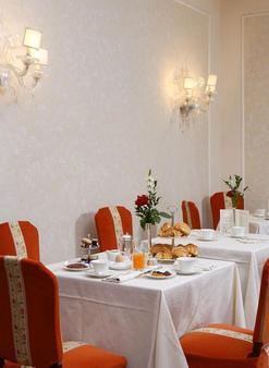 佛罗伦萨德拉维尔酒店 - 佛罗伦萨 - 餐厅