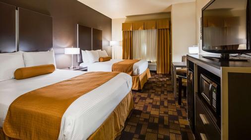 温莎普安特贝斯特韦斯特套房酒店-AT&T中心 - 圣安东尼奥 - 睡房