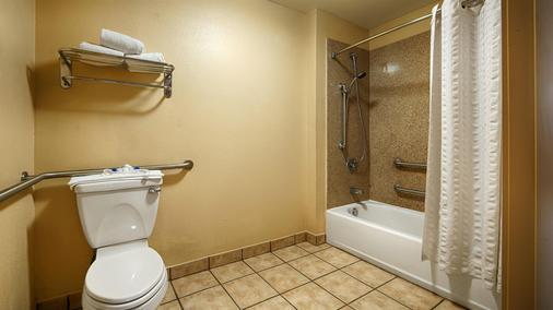 温莎普安特贝斯特韦斯特套房酒店-AT&T中心 - 圣安东尼奥 - 浴室