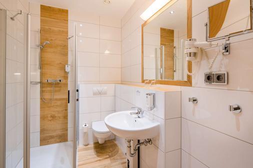 贝斯维斯特堡恩斯维格城市酒店 - 布伦瑞克 - 浴室