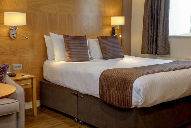贝斯特韦斯特高级东密德兰机场紫杉旅馆酒店 - 德比 - 睡房