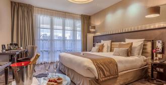 图卢兹拉科迪康希勒美憬阁酒店及 Spa - 图卢兹 - 睡房