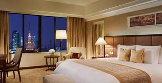 上海波特曼丽思卡尔顿酒店 - 上海 - 睡房