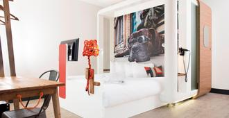 伦敦市丘比克酒店 - 伦敦 - 睡房