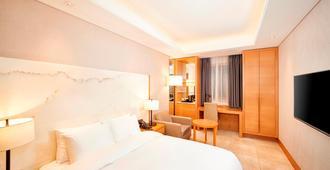 阿班酒店 - 釜山 - 睡房