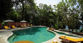 普吉岛班恩卡拉丁酒店 - 拉威 - 游泳池