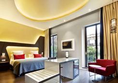 文希联欢晚会酒店 - 巴塞罗那 - 睡房