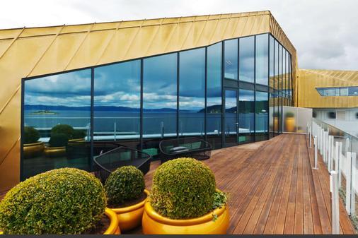 克拉丽奥酒店及特隆赫姆代表大会 - 特隆赫姆 - 阳台