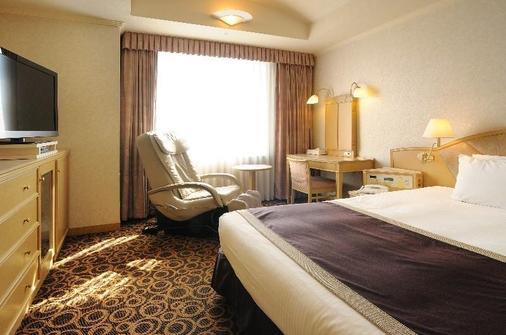 银座克雷斯顿酒店 - 东京 - 睡房